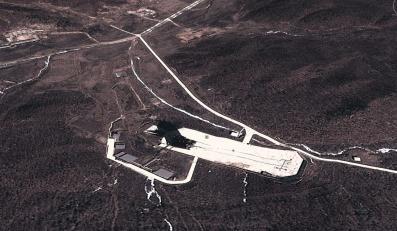 Zdjęcie satelitarne wyrzutni