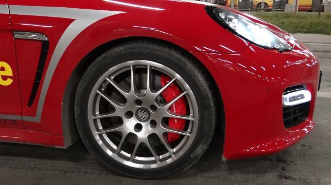 Porsche panamera GTS myTaxi