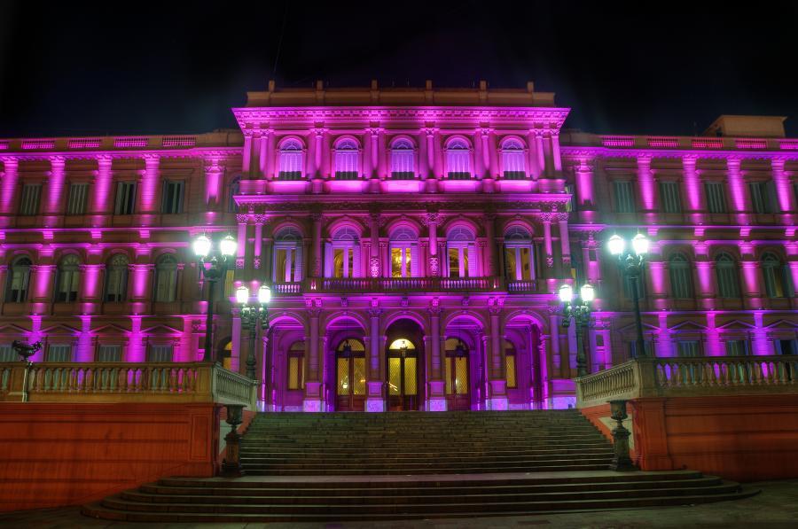Siedziba argentyńskiego rządu