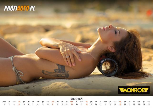 Natalia Siwiec w kalendarzu na 2013 rok