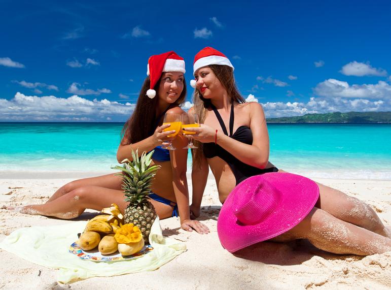 Święta pod choinką czy pod palmami?