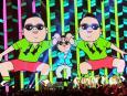 Psy na gali MTV Europe Music Awards (EMA) 2012