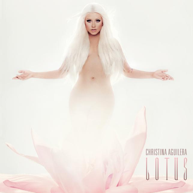 """Christina Aguilera na okładce najnowszej płyty """"Lotus"""""""