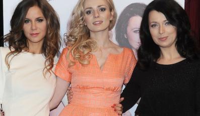 Natalia Lesz, Aleksandra Mikołajczyk i Katarzyna Pakosińska