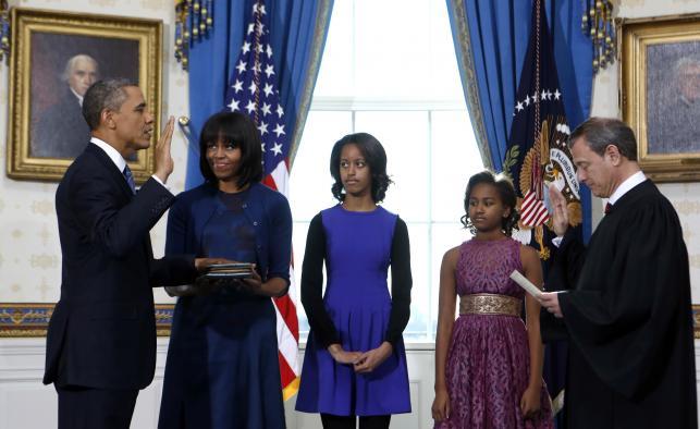 Zaprzysiężenie Baracka Obamy na prezydenta USA