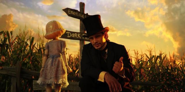 """James Franco w filmie """"Oz: Wielki i potężny"""""""