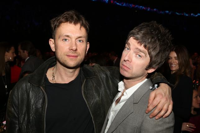 Dawni wrogowie – Damon Albarn i Noel Gallagher