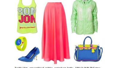 Neonowy total look