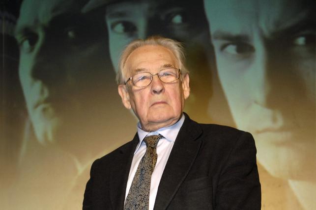 """Andrzej Wajda na konferencji prasowej na temat """"Katynia""""  (20070"""