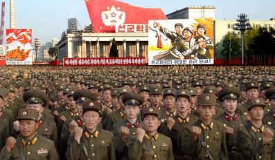 Żołnierze północnokoreańscy