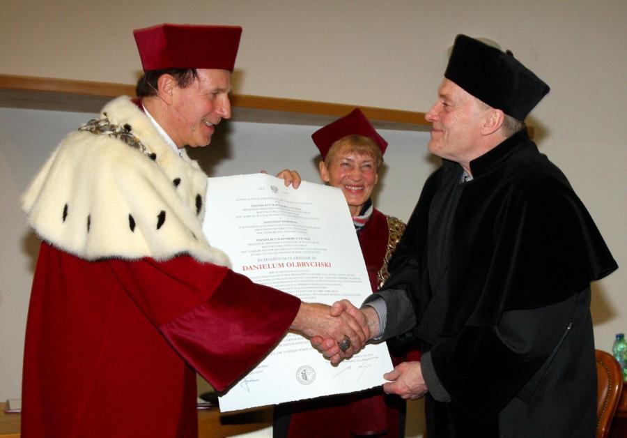 Daniel Olbrychski odebrał doktorat honoris causa