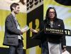 Malik Bendjelloul i Sixto Rodriguez na festiwalu w Sundance 2012