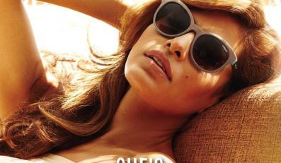 Eva Mendes w kampanii Vogue Eyewear wiosna/lato 2013