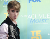 Justin Bieber na gali 2011 Teen Choice Awards