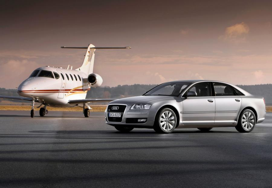 Audi A8 - zdjęcie ilustracyjne