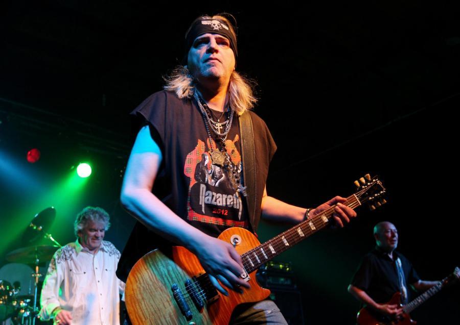 Nazareth na trzech koncertach w Polsce