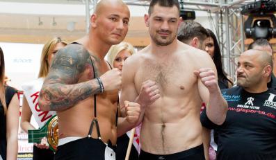 Artur Szpilka (z lewej