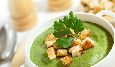 Pyszna wiosenna zupa