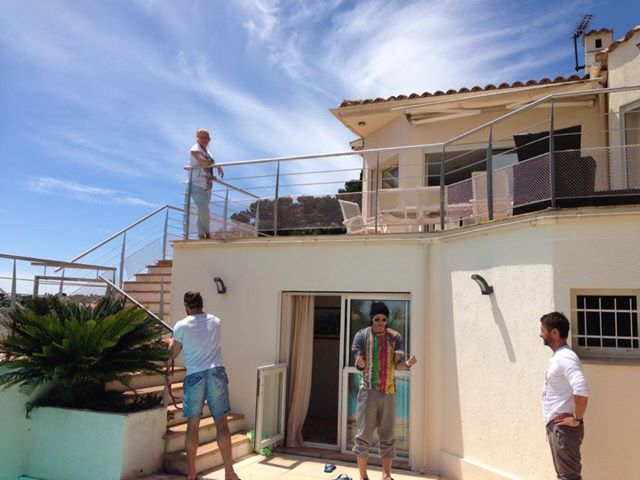 Radosław Majdan imprezuje w Cannes