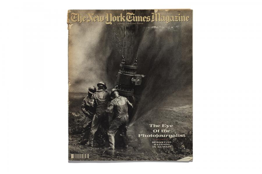 The New York Times Magazine Tearsheets Sebastião Salgado, Amazonas images
