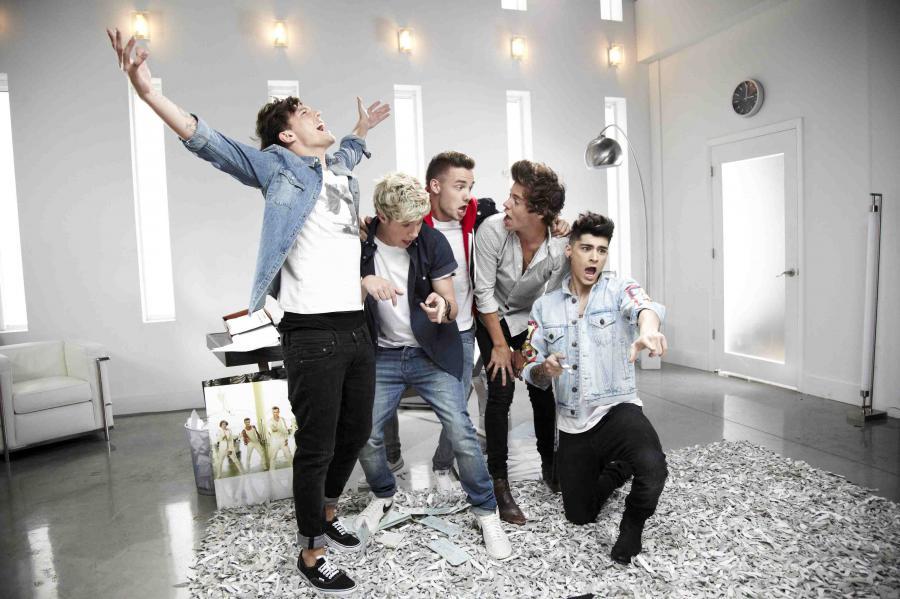 One Direction imprezowo w nowym teledysku