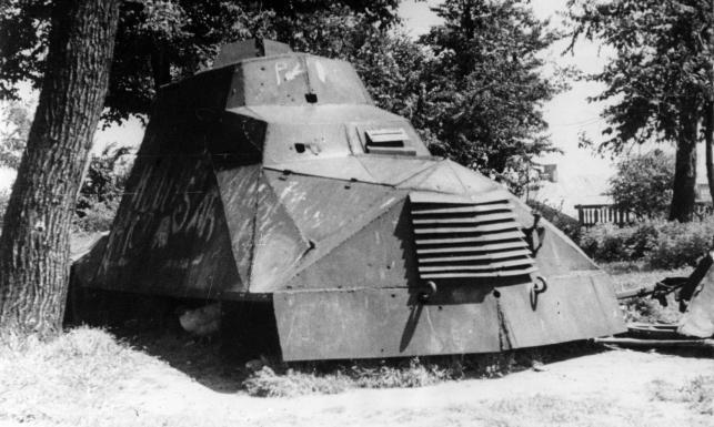 Słynny polski samochód pancerny, który walczył w Powstaniu Warszawskim. ZDJĘCIA