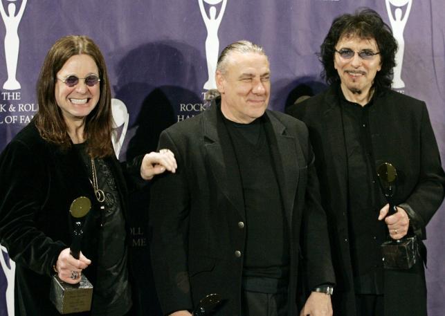 Black Sabbath: Ozzy Osbourne, Bill Ward i Tony Iommi