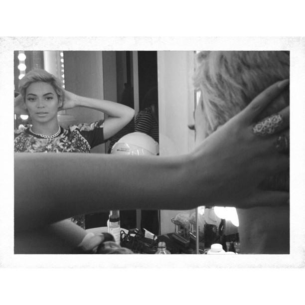 Beyoncé w nowej fryzurze