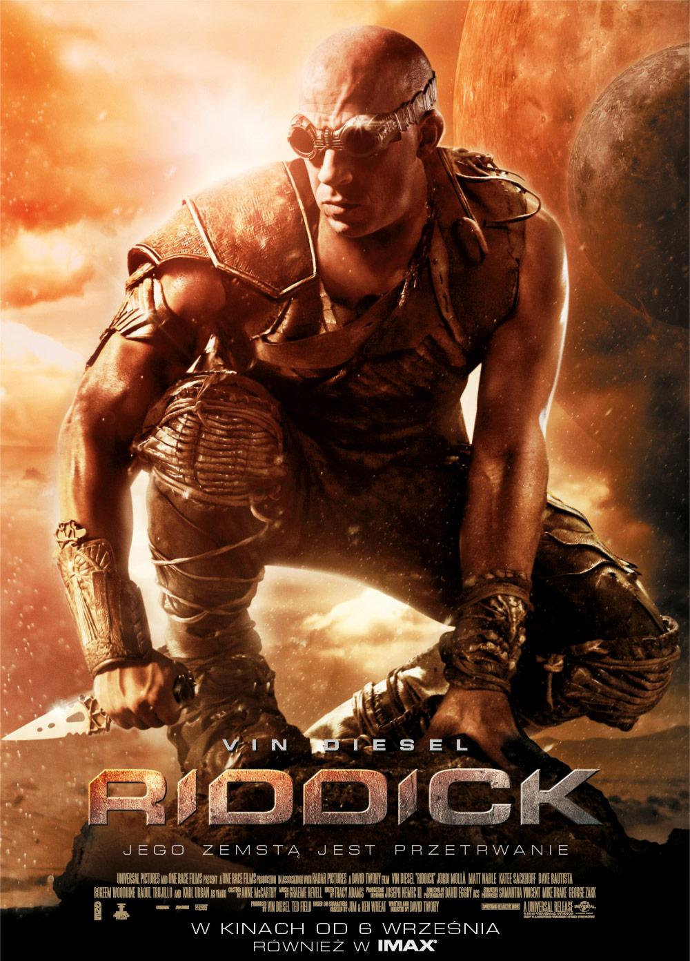 """""""Riddick"""" w kinach od 4 września"""
