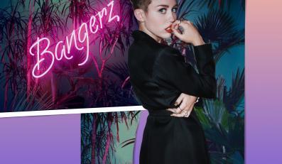 """Miley Cyrus na okładce płyty """"Bangerz"""""""