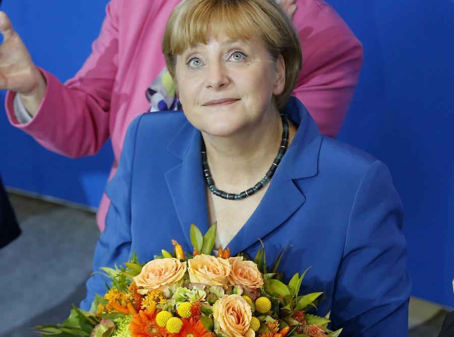 Merkel ponownie wygrała wybory w Niemczech