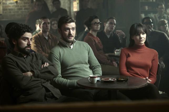 """Oscar Isaac, Justin Timberlake i Carey Mulligan w filmie """"Inside Llewyn Davis"""""""