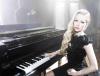 "Avril Lavigne i Chad Kroeger na okładce singla ""Let Me Go"""