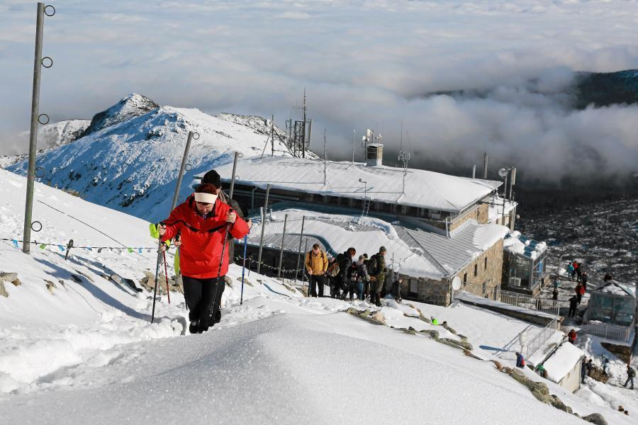 Śnieg zasypał Tatry
