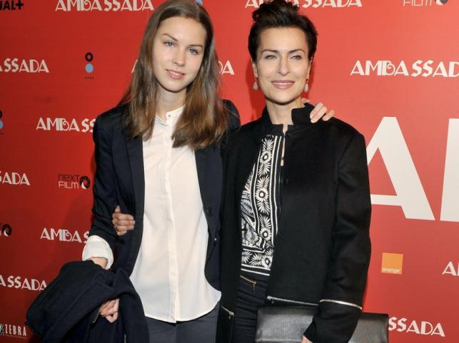 Danuta Stenka z córką Pauliną