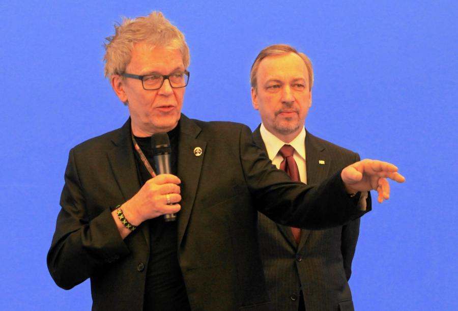 Zbigniew Rybczyński i Bogdan Zdrojewski