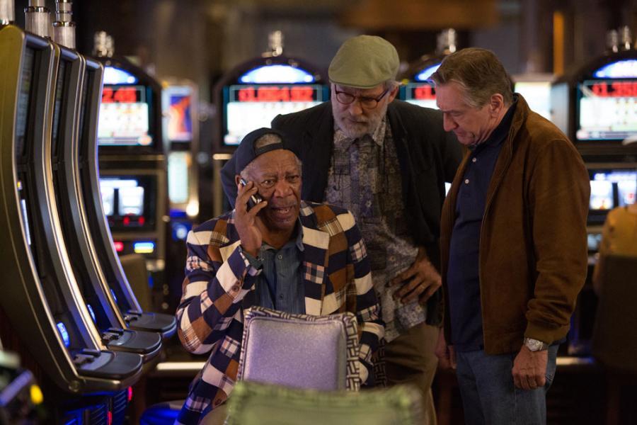 "Morgan Freeman, Kevin Kline i Robert De Niro w komedii ""Last Vegas"""