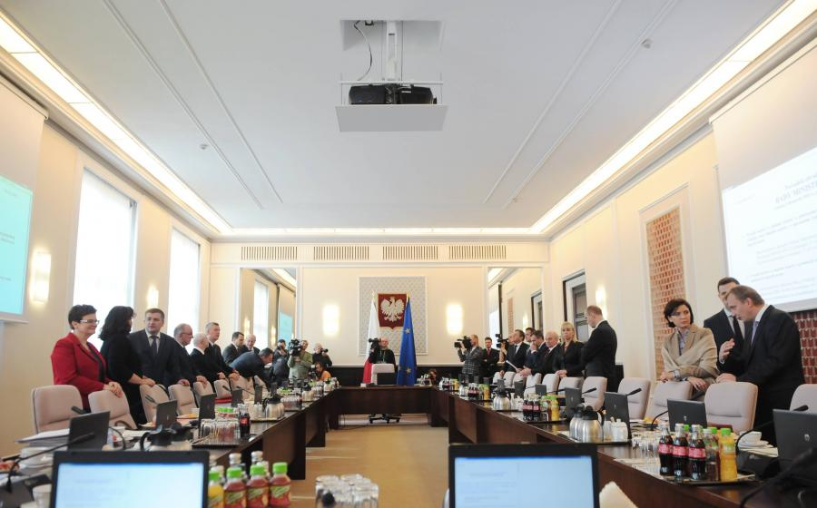 Posiedzenie rządu Donalda Tuska