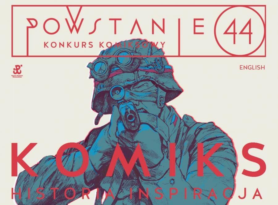 Powstanie Warszawskie 1944 komiks konkurs