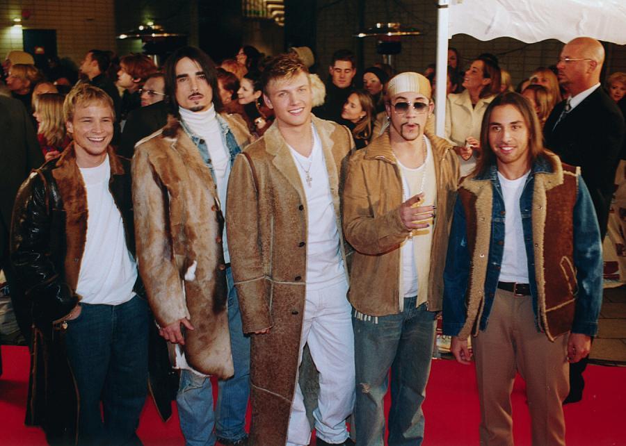 Backstreet Boys na MTV Music Awards –Sztokholm 2000