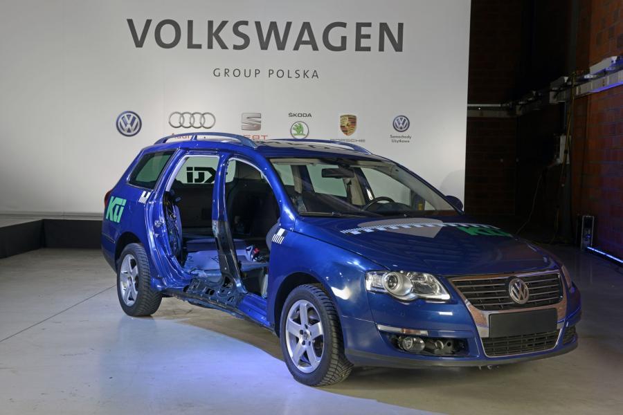 VW passat naprawiany \