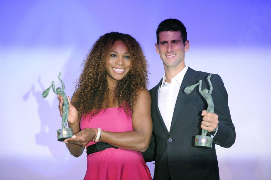 Serena Williams i Novak Djoković