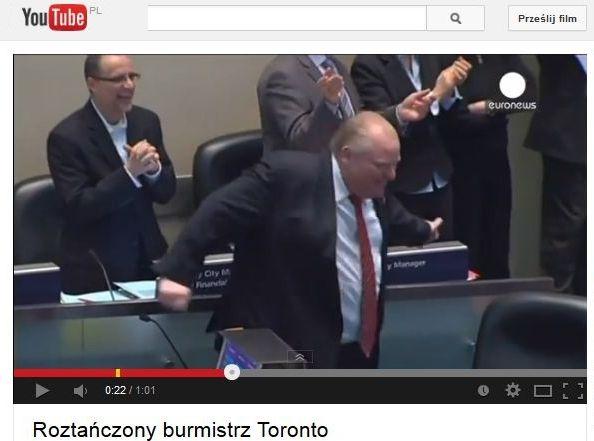 tańczący burmistrz Toronto