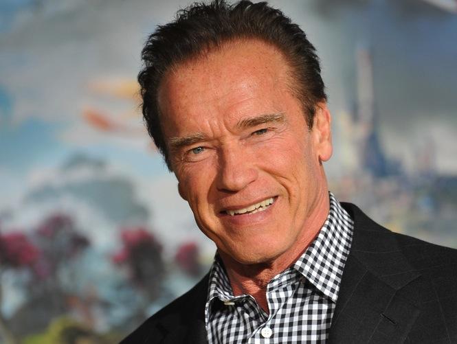 Arnold Schwarzenegger gwiazdą \