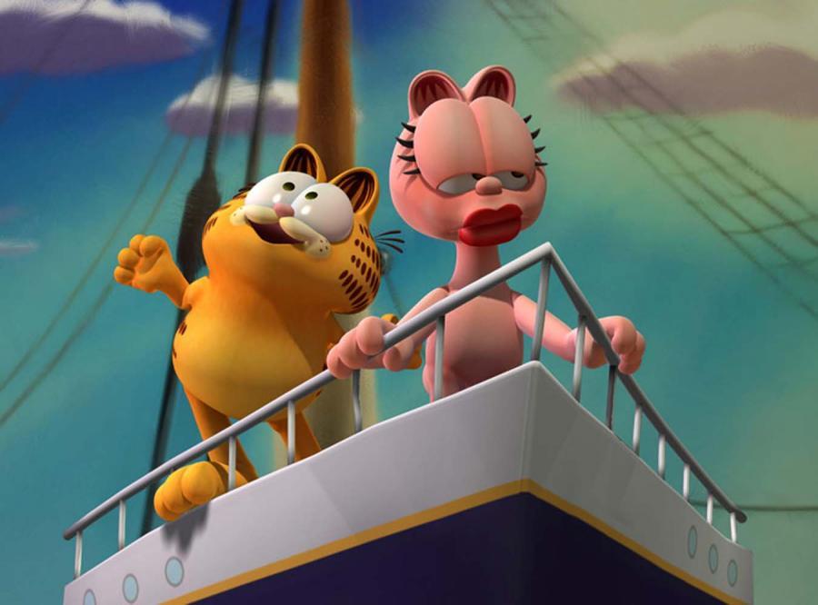 "Kadr z filmu "" Garfield: Festyn humoru"""