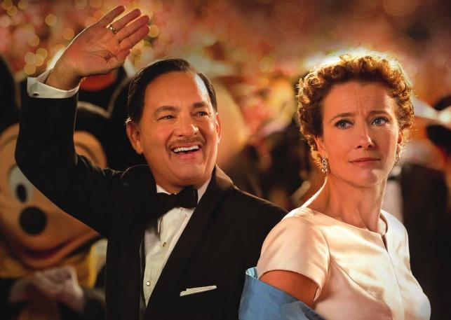"Tom Hanks i Emma Thompson w filmie ""Ratując pana Banksa"""