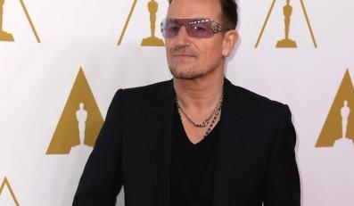 Bono na dorocznym spotkaniu nominowanych do Oscarów