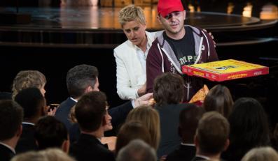Ellen Degeneres zamówiła pizzędla gości wielkiej gali