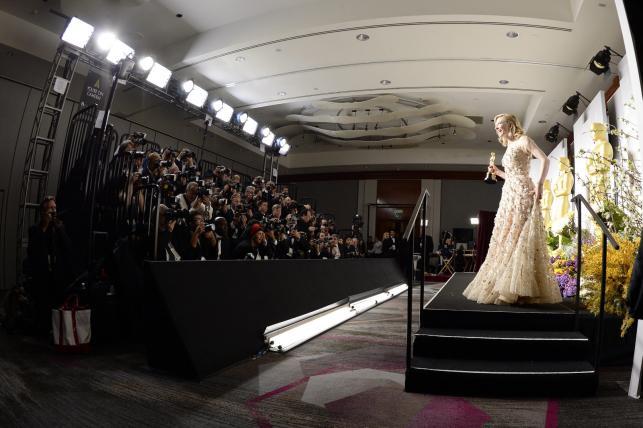 Cate Blanchett na gali Oscarów 2014