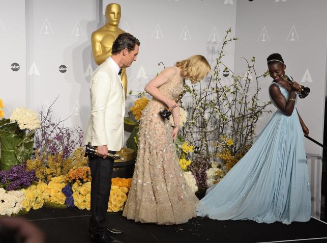 Laureaci: Matthew McConaughey, Cate Blanchett i Lupita Nyong'o